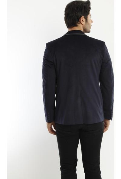 D&A Lacivert Erkek Ceket 207-PM-059