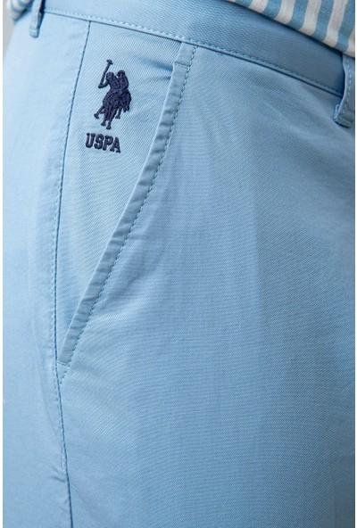 U.S. Polo Assn. Erkek Dokuma Bermuda Capri 50203532-VR073