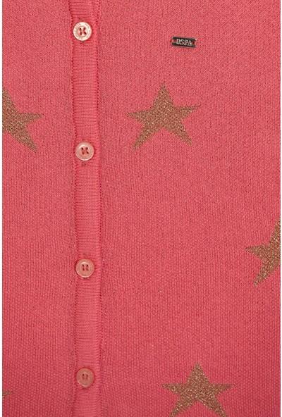 U.S. Polo Assn. Kız Çocuk Triko Hirka 50206140-VR041