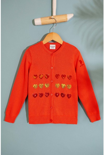 U.S. Polo Assn. Kız Çocuk Triko Hirka 50206142-VR047