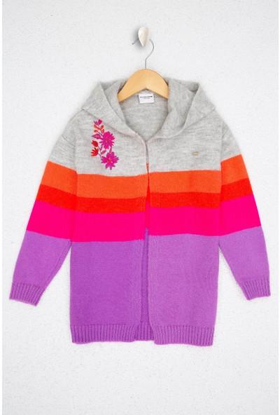 U.S. Polo Assn. Kız Çocuk Triko Hirka 50206145-VR086
