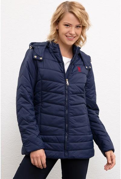 U.S. Polo Assn. Kadın Mont Sentetik 50206408-VR033