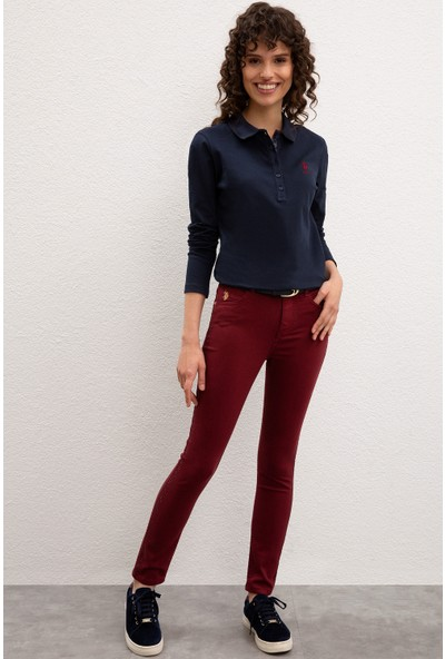 U.S. Polo Assn. Kadın Spor Pantolon 50207272-VR180