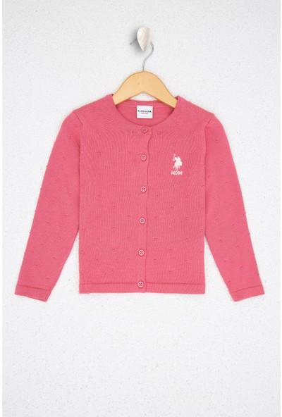 U.S. Polo Assn. Kız Çocuk Triko Hirka 50208717-VR078