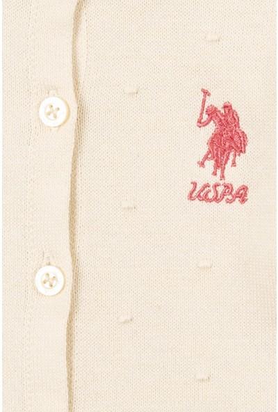 U.S. Polo Assn. Kız Çocuk Triko Hirka 50208717-VR019