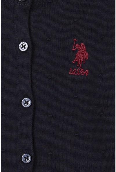 U.S. Polo Assn. Kız Çocuk Triko Hirka 50208717-VR033
