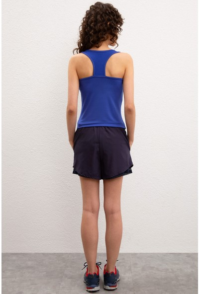 U.S. Polo Assn. Kadın Örme Şort 50208766-VR033