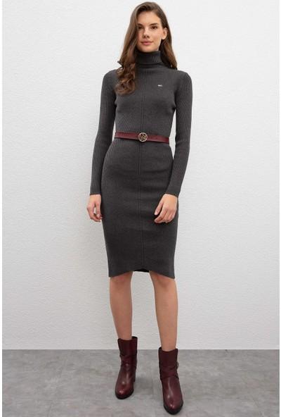 U.S. Polo Assn. Kadın Triko Elbise 50209481-VR081