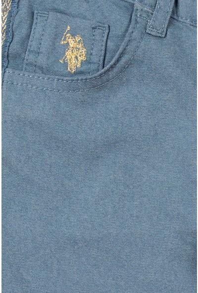 U.S. Polo Assn. Kız Çocuk Spor Pantolon 50214159-VR152