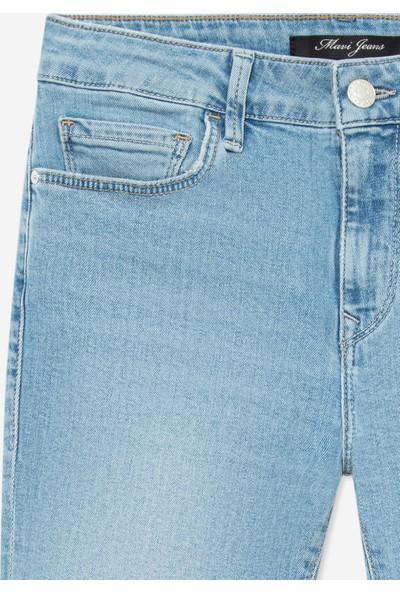 Mavi Kadın Tess Paça Detaylı İndigo Jean Pantolon 100328-29202