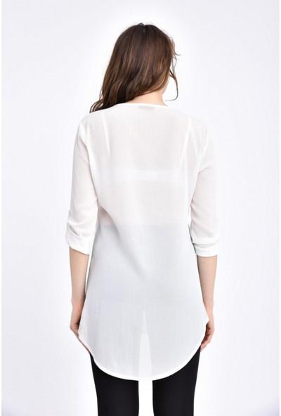 Parkkaron Kadın Nakış Detay Elbise