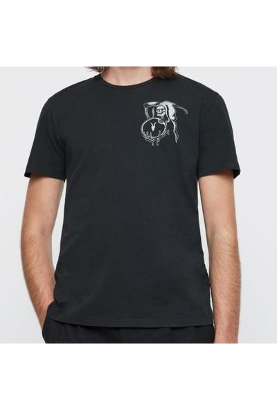 All Saints Erkek Bisiklet Yaka T-Shirt 003422
