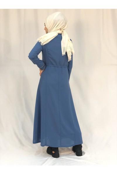 Nazz 8120 Yazlık Pardesü Mavi