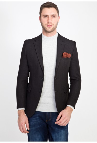 Kiğılı Klasik Desenli Ceket