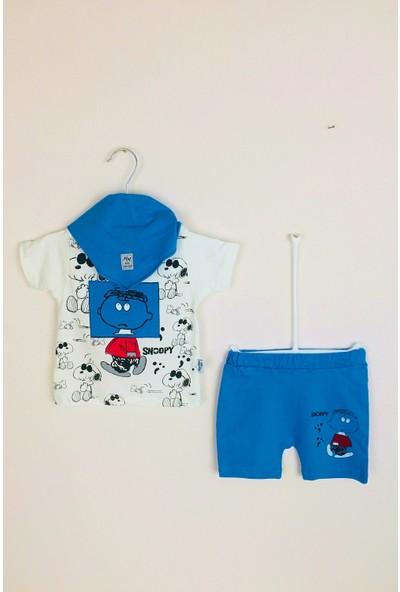 May Mirr Erkek Bebek Snoopy 3'lü Takım