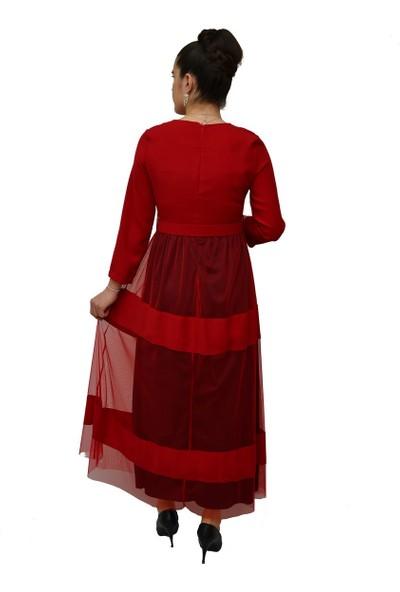 Anitabella Kırmızı Elbise