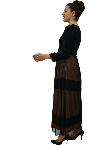 Anitabella Siyah Elbise
