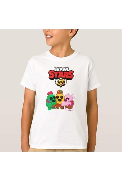Kuppa Shop Brawl Stars Çocuk Tişört Spike Brawl Stars Erkek Çocuk Tişört