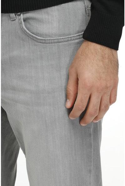 Tween Gri Denim Pantolon