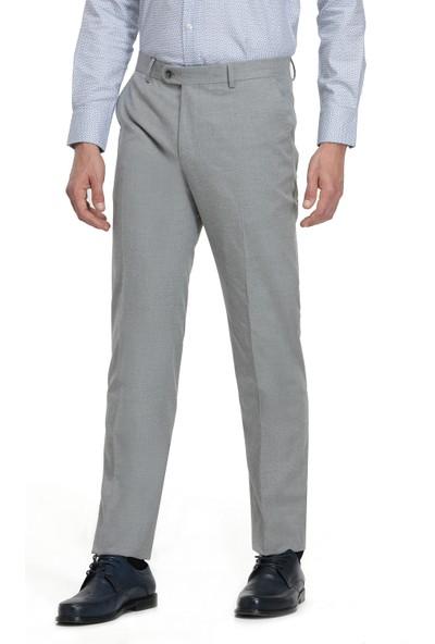 D'S Damat Gri Kumaş Pantolon