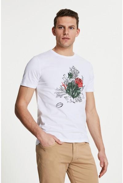 D'S Damat Beyaz T-Shirt