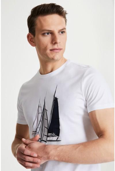 Damat Beyaz T-Shirt