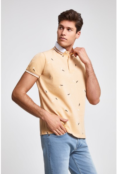 D'S Damat Regular Fit Sari T-Shirt