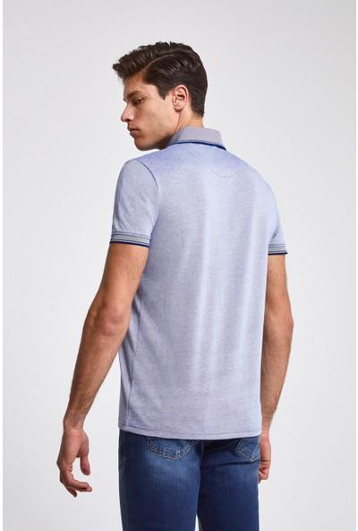D'S Damat Regular Fit Mavi T-Shirt