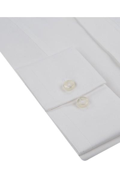 Tween Slim Fit Beyaz Gömlek