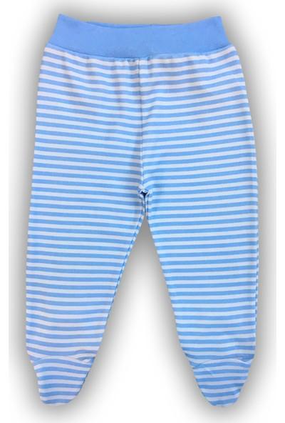 By Leyal For Kids Erkek Bebek Çizgili Penye Pantolon