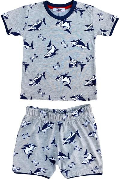 By Leyal For Kids Erkek Çocuk Köpek Balığı Detaylı Takım
