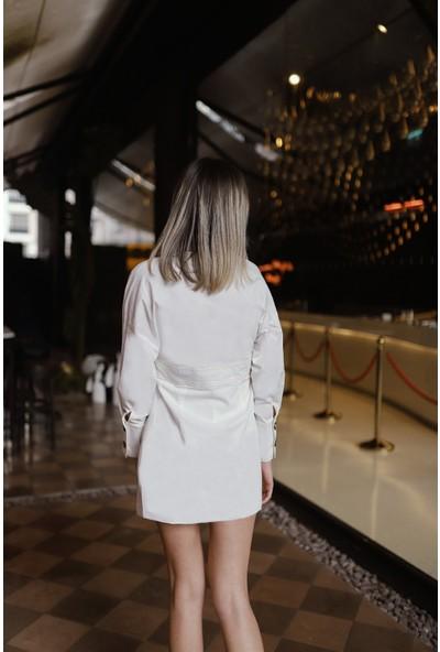 Simple Stories Düğmeli Elbise