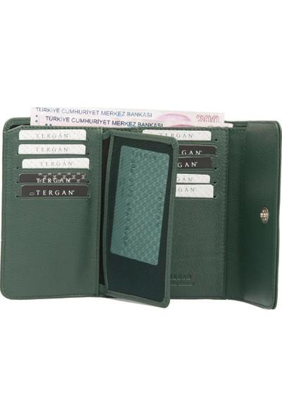 Tergan K.Yeşil Deri Kadın Cüzdanı 05730J0B