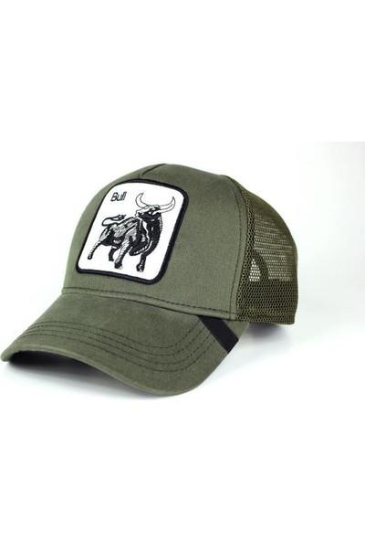 TEET Hayvan Figürlü Animal Farm Şapka Boğa Bull Resimli Cap