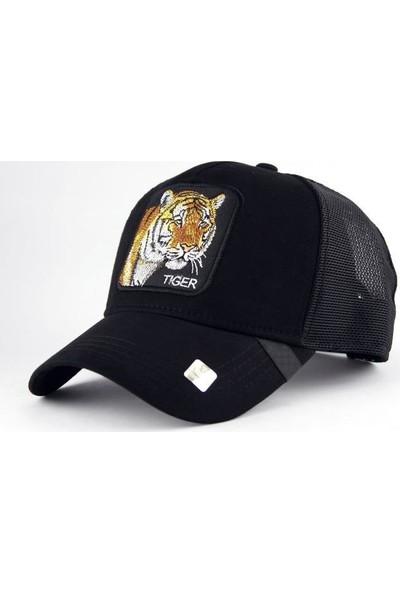 TEET Hayvan Figürlü Animal Farm Şapka Kaplan Tiger Resimli Cap
