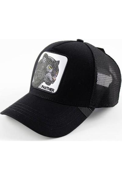 TEET Hayvan Figürlü Animal Farm Şapka Panter Resimli Cap