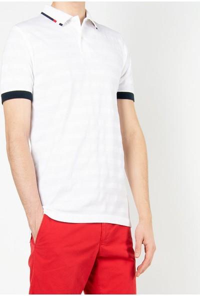 Tommy Hilfiger Erkek Polo Yaka T-Shirt U003521