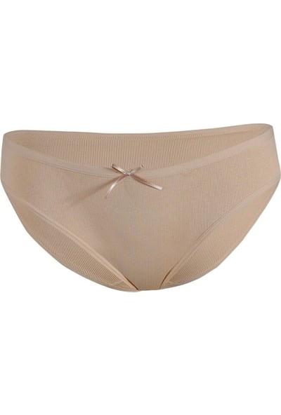 Özten Özten 204 3'lü Paket Likralı Kaşkorse Kadın Bikini Külot