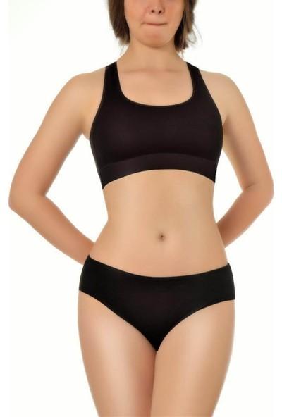 Özten Özten 205 Pamuk Ribana Kadın Bikini Külot