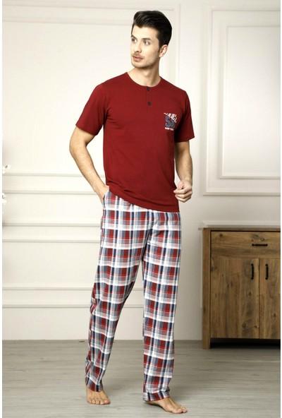 Snc Erkek Kısa Kollu Pijama Takımı