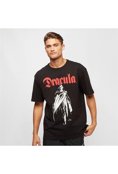 Soydance Dracula Baskılı Oversize T Shirt Siyah