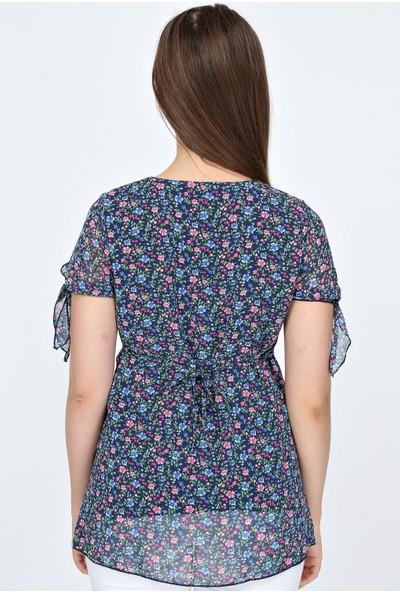 Trendy Hamile Şifon Bluz