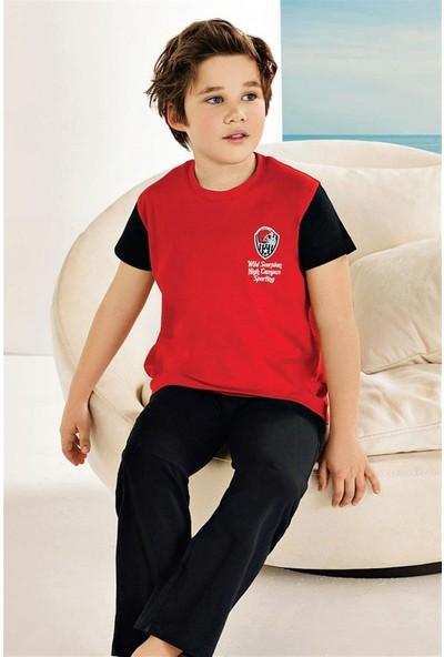Güryıldız Penye Kısa Kollu Erkek Çocuk Pijama Takım 6739
