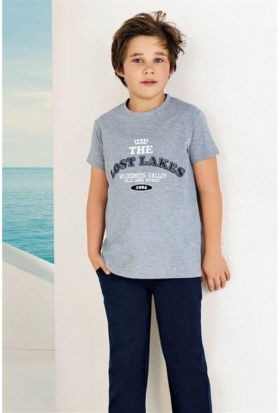 Güryıldız Penye Kısa Kollu Erkek Çocuk Pijama Takımı 6737