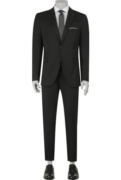 Tween Slim Fit Siyah Takım Elbise