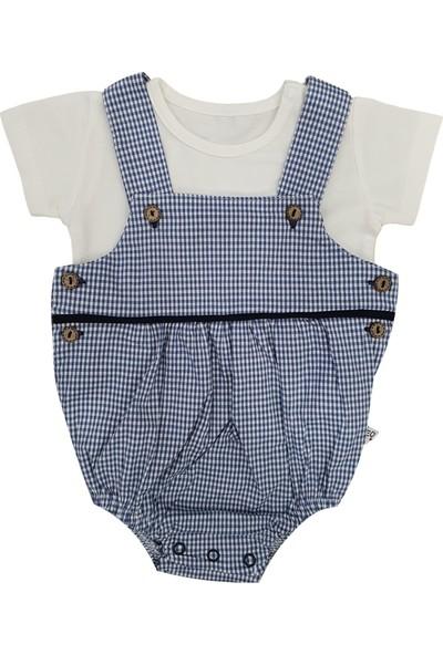 Veo Baby Erkek Bebek Piti Kare Düğmeli Slopet