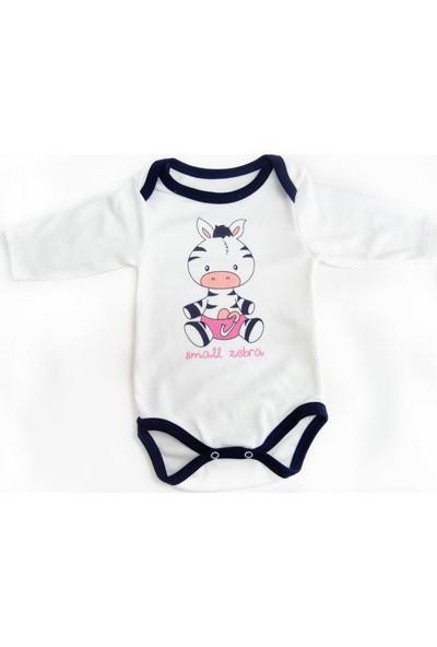 Minibird Zürafalı 3'lü Kız Bebek Takımı