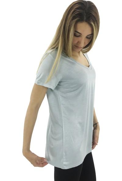 B-Fit Basic Kadın V Yaka T-Shirt
