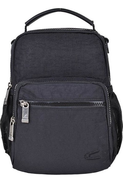 CActive Erkek Bady Bag ve El Çantası Siyah 8600