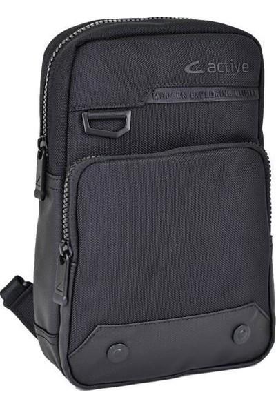 CActive Erkek Bady Bag Çanta Siyah 8617
